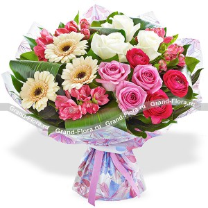 Beautiful bouquet of roses - Country Love